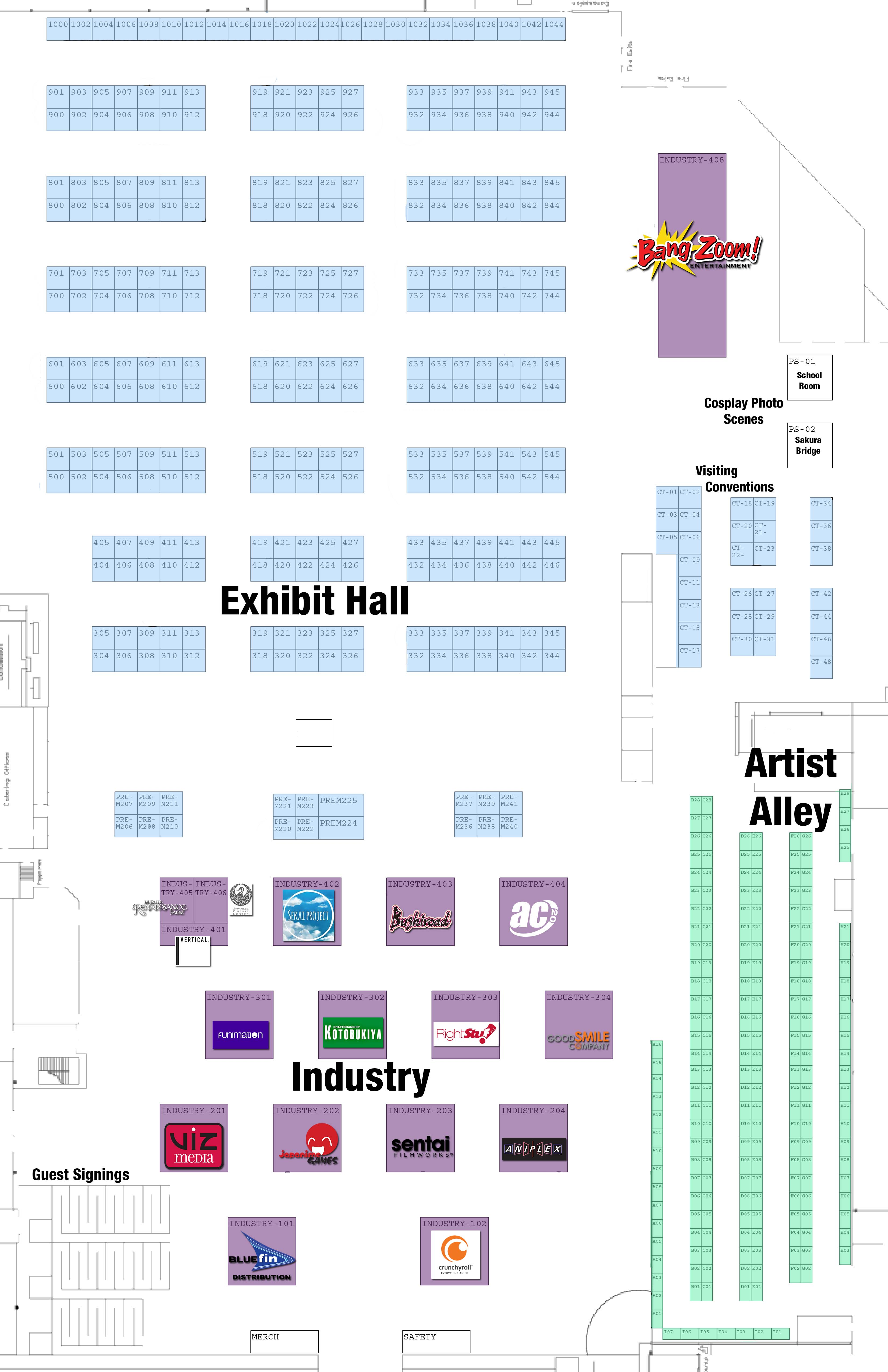 exhibition space floor plan anime central exhibition space floor plan