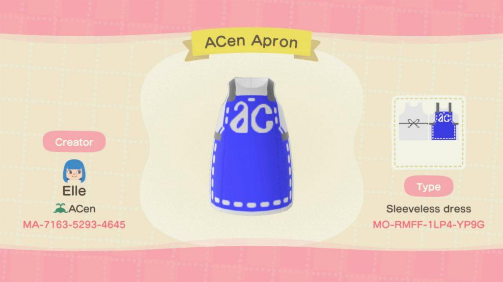 ACen Online Animal Crossing Apron