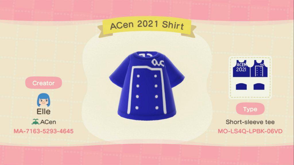 ACen Online Animal Crossing Shirt